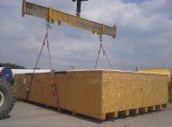 Balení technologie linky na výrobu drátu