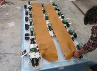 Exportní (zámořské) balení armatur
