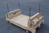Dřevěná dna a balení svazků 05