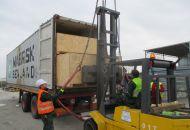 Nakládka a fixace kontejneru 04