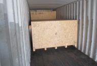 Nakládka a fixace kontejneru 06