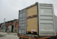 Nakládka a fixace kontejneru 09